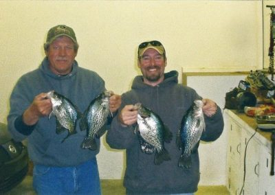 Dad and I crappies
